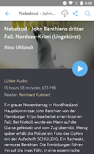 Audiobooks in German - náhled