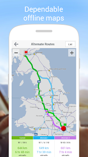 CoPilot UK+ Ireland Navigation- screenshot thumbnail
