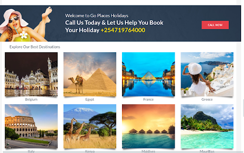 Go Places Holidays Tablet Android Apps On Google Play