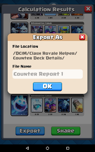 Counter Deck Calculator for CR screenshot 21