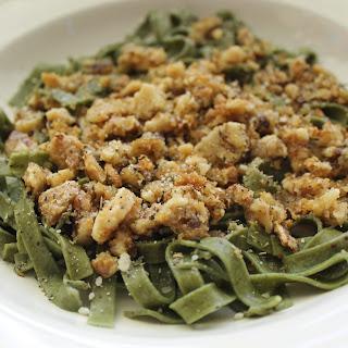 Spinach Fettuccine Pasta Recipe