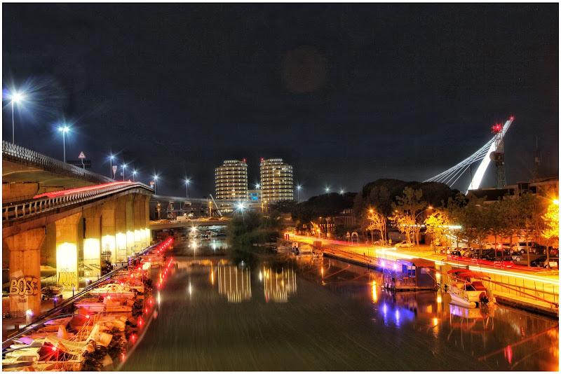 Pescara di notte di Barbara
