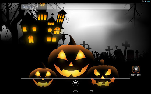 Spooky Halloween Free Live Wallpaper 7