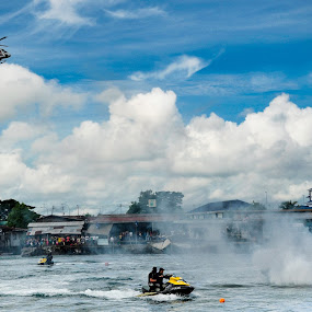 Marine Police Demo by Saniyil Bansai - News & Events World Events ( journalism, police, sanilbans photography, event )