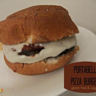 Portabella Pizza Burgers – #glutenfree #vegan