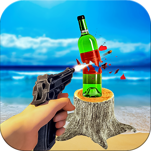 Bottle Shoot Target 3D