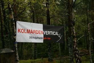 Photo: Målplatsen vid Kolmårdens högsta punkt - pust!