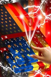 Americký Galaxy Keyboard - náhled