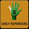 5 Daily Humanitarian Reminders icon