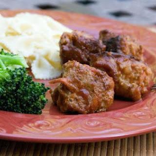 Cheesy Turkey Meatballs.