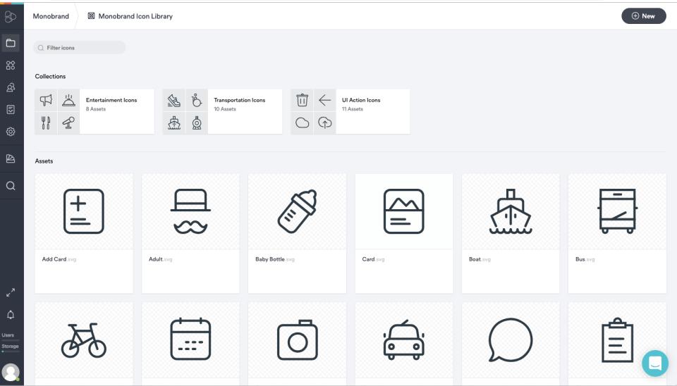 frontify Markenmanagement-Plattform