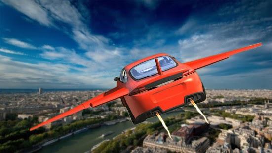 extrémní senzace létající auto - náhled
