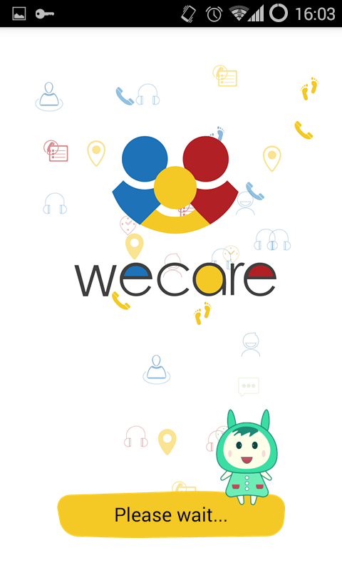 Wecare- screenshot