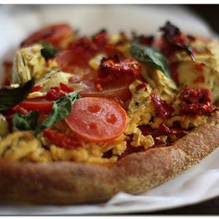 Vegan Marinara Pizza.