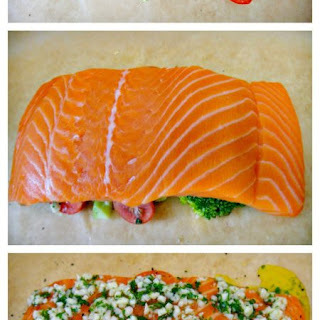 Salmon Baked in Foil with Lemon and Garlic Recipe