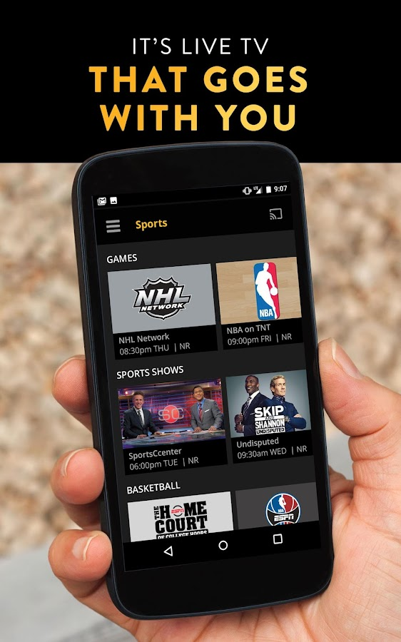Sling TV- screenshot