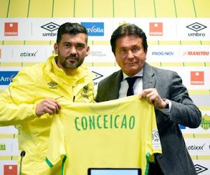 Officieel: Standard mag alle hoop opbergen, want Conceiçao verlengde zijn contract bij Nantes