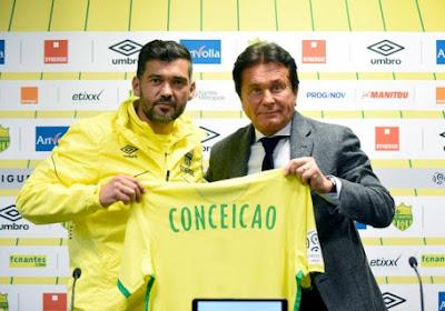 Sergio Conceiçao verlengt zijn contract bij FC Nantes