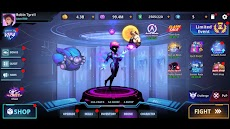 Cyber Fighters: Cyberpunk Stickman Impact Fightingのおすすめ画像5