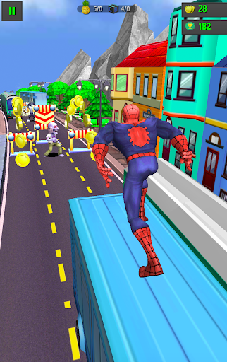 Subway Spider-Run Adventure World 2.2 screenshots 5