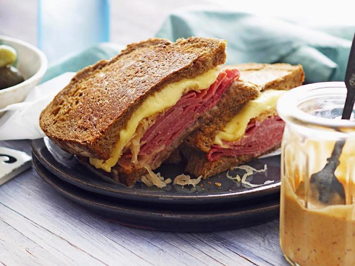 Classic Reuben Sandwiches Recipe