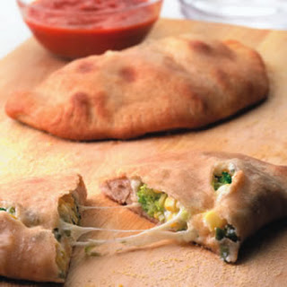 Corn & Broccoli Calzones Recipe