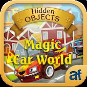 Hidden Objects Magic Car World