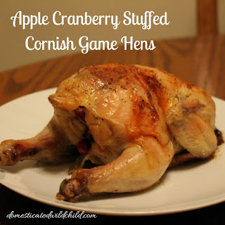 Oven Baked Cornish Game Hen Recipes