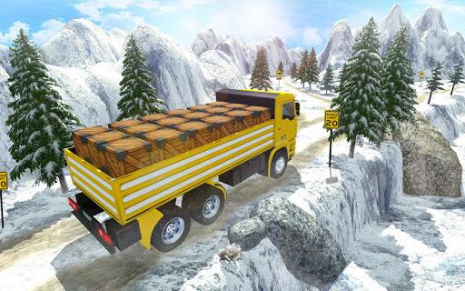 3D Truck Driving Simulator - Real Driving Games screenshot 2