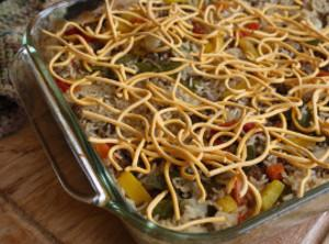 Chop Suey Casserole Recipe