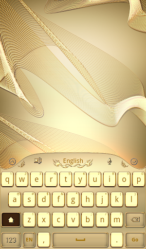Gold Keyboard for Galaxy S6