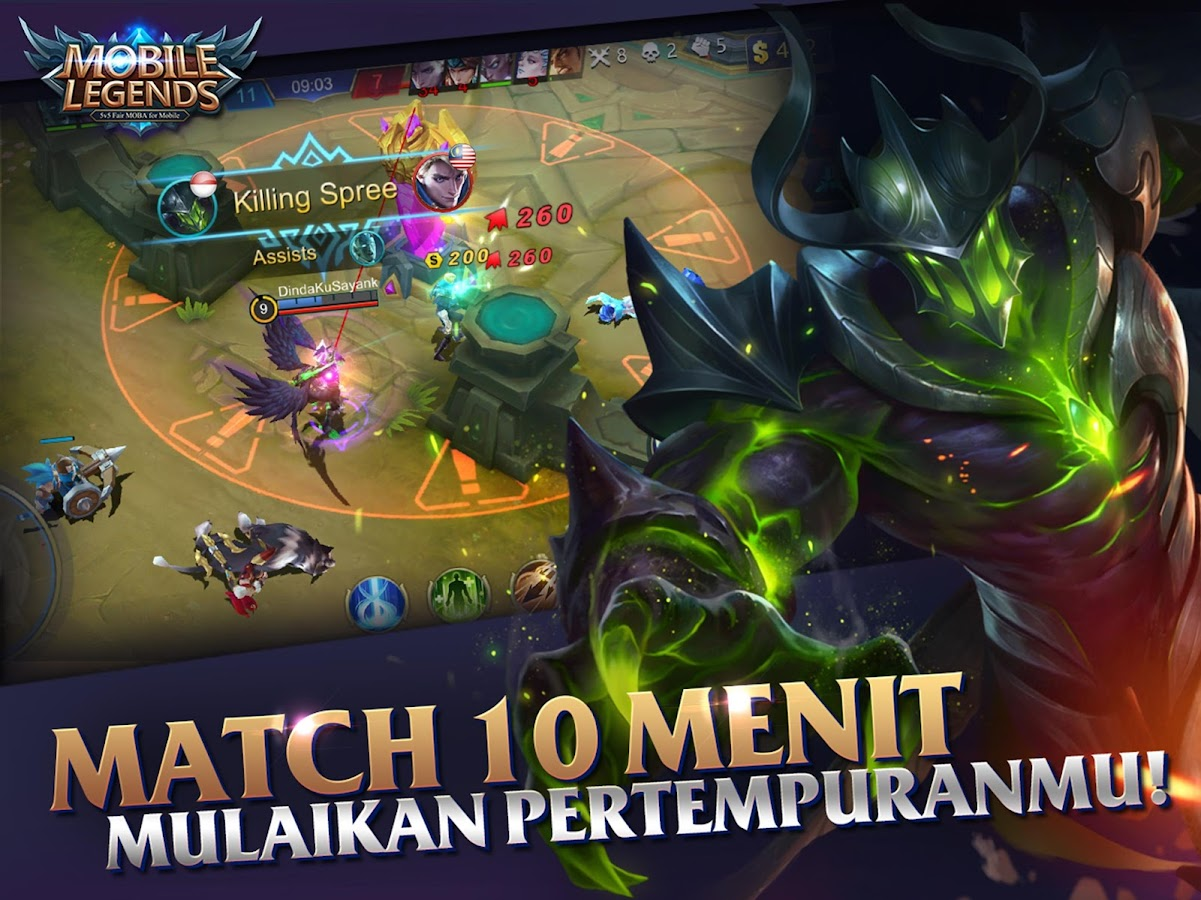 Mobile Legends: Bang bang- screenshot