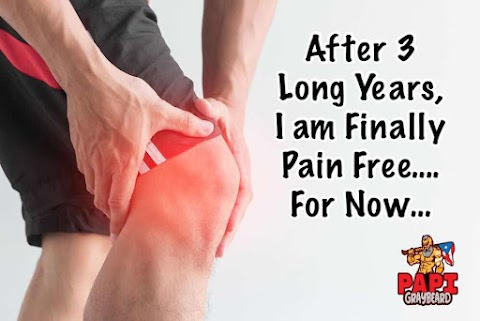After 3 Long Years, I am Finally Pain Free…. For Now…