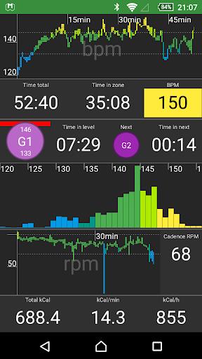 myWorkouts Heart Rate Monitor Sport GPS Tracker  screenshots 1