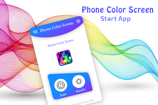 Color Phone Call Flash Screen screenshots 1