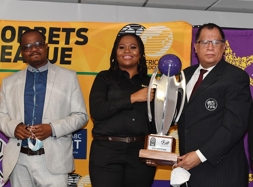Danny Jordaan wants new sponsorship to help SA women's football scale great heights