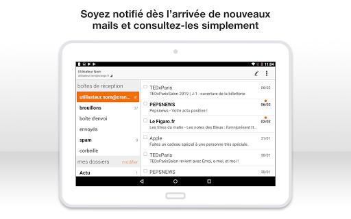 Mail Orange, 1er mail français screenshot 16