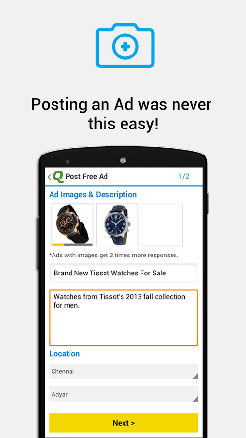 Quikr Free Local Classifieds - Android Apps on Google Play