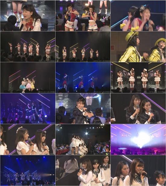 (LIVE)(公演) HKT48 チームTII+研究生「手をつなぎながら」 初日公演 161221