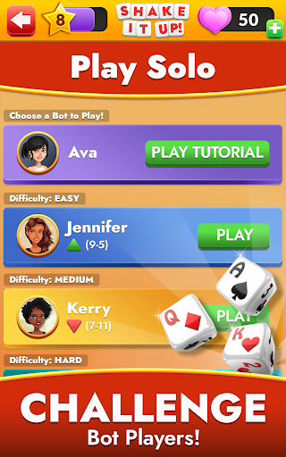 SHAKE IT UP! Dice Poker android2mod screenshots 12