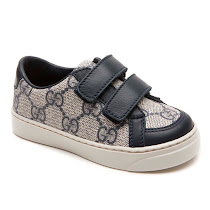 Gucci Toddler GG Supreme Trainer VELCRO TRAINER