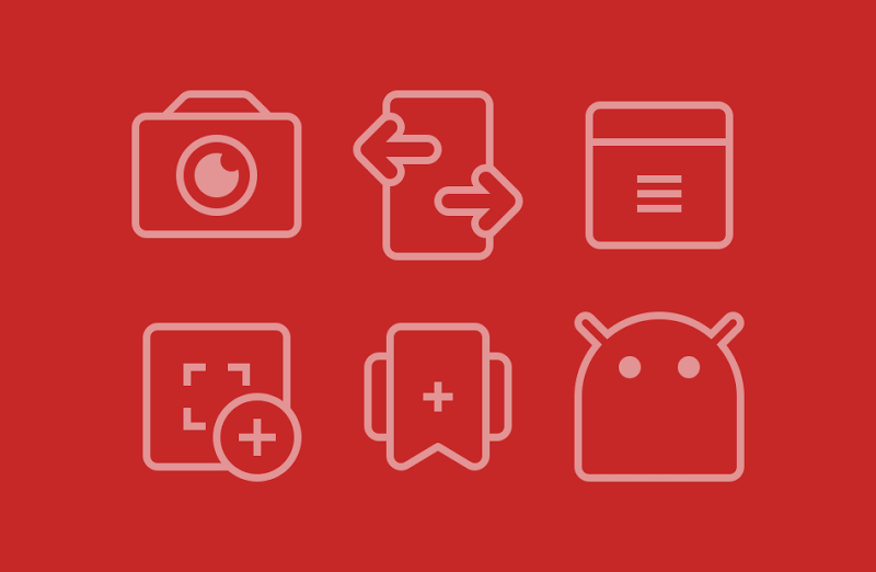 TwoPixel Light - Icon Pack Screenshot