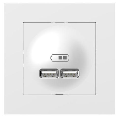 Elko Plus USB 2-väggsuttag