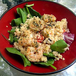 Jumbo Shrimp with Basil and Mint Pesto