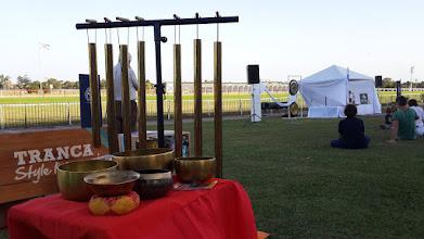 Photo: Cuencos Tibetanos y Terapia Vibracional  en la Expo Bio 2015