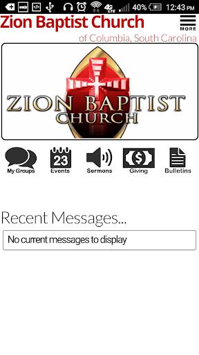 Zion Baptist of Columbia SC