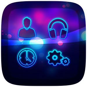 Neon Theme For All Launchers APK for Blackberry