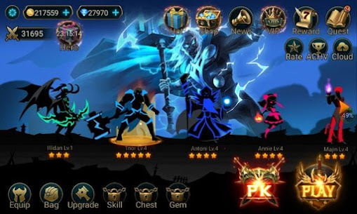 Hero Legend Stickman Pro v1.9.0 Mod APK 6