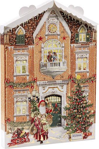 Adventskalender kalenderhus – Confiserie Heilemann