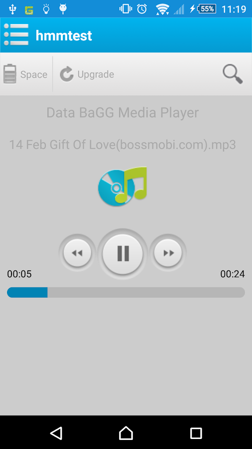 Data BaGG- screenshot